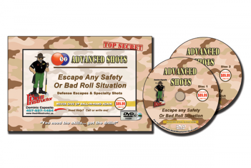 52 Advanced Shots Book & DVD by The Drill Instructor