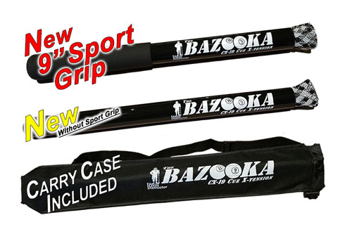 The Bazooka Cue X-Tension by The Drill Instructor