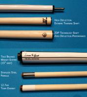 M1A1 CAP Shaft and XT Training Pool Cue Shaft