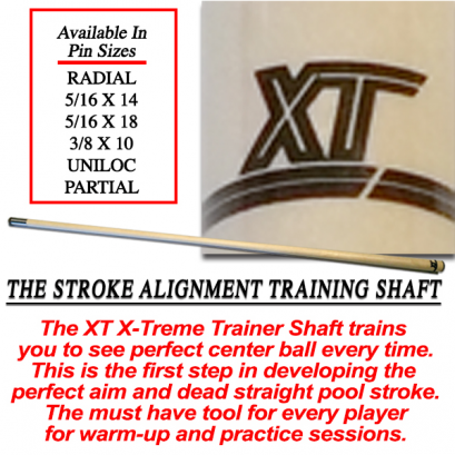 XT Shaft X-Treme Training Pool Cue
